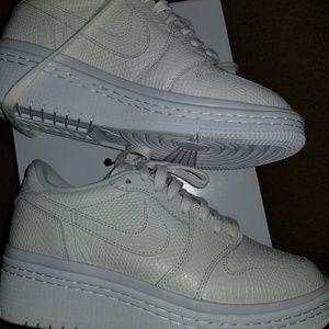 best service 4e4fb e2f3c Jordan Shoes   1 Retro Low Lifted White Womens Shoe8   Poshmark